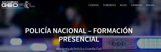 geopol-web-policía-nacional mejores academias en Alicante para opositar a Policía Nacional
