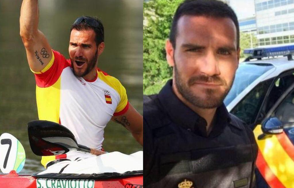 policías olimpiadas